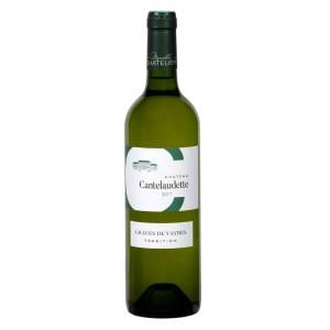 Bouteille de vin blanc C Cantelaudette tradition