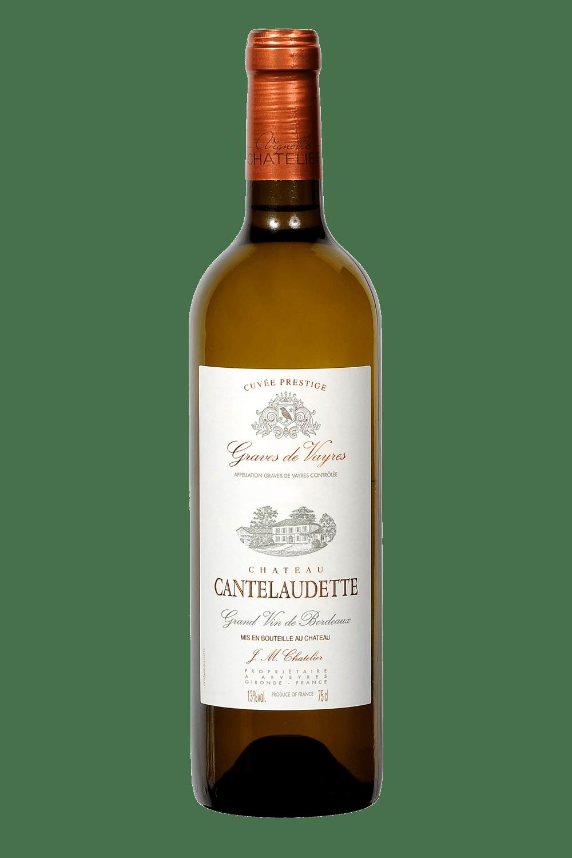 Vin blanc prestige Château Cantelaudette