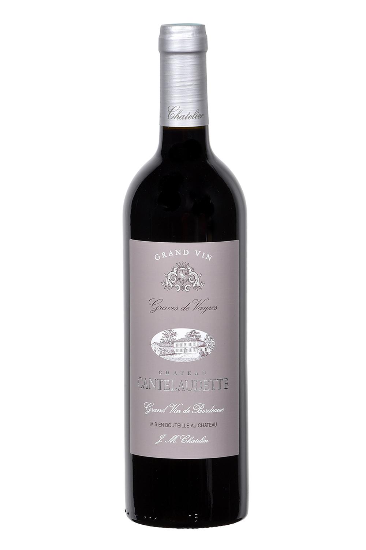 Vin rouge grand vin Château Cantelaudette