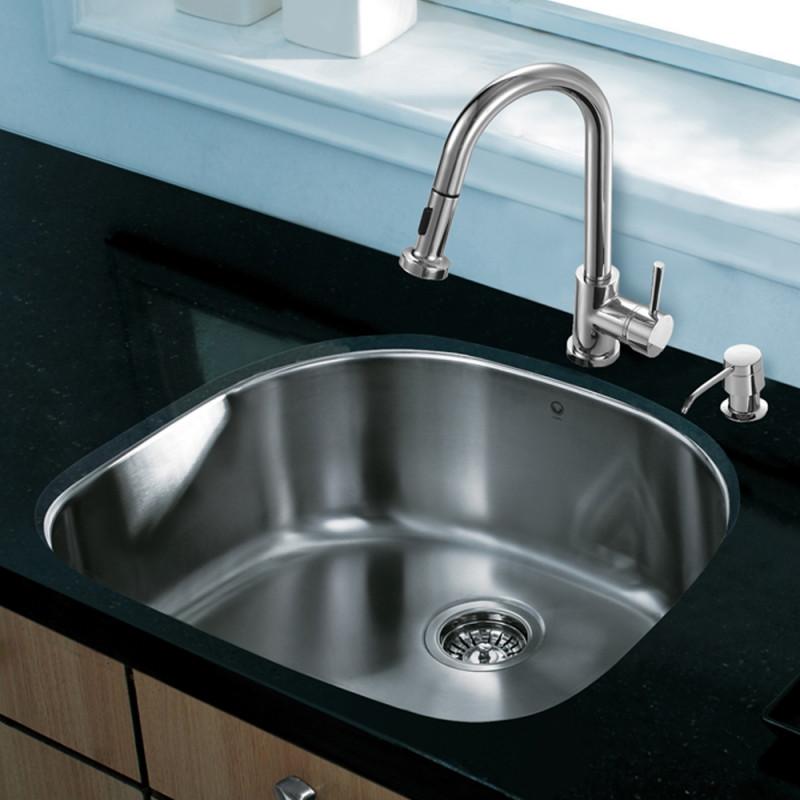 24 kitchen sink marsh cabinets all in one inch undermount stainless steel and customer photos vigomarketing