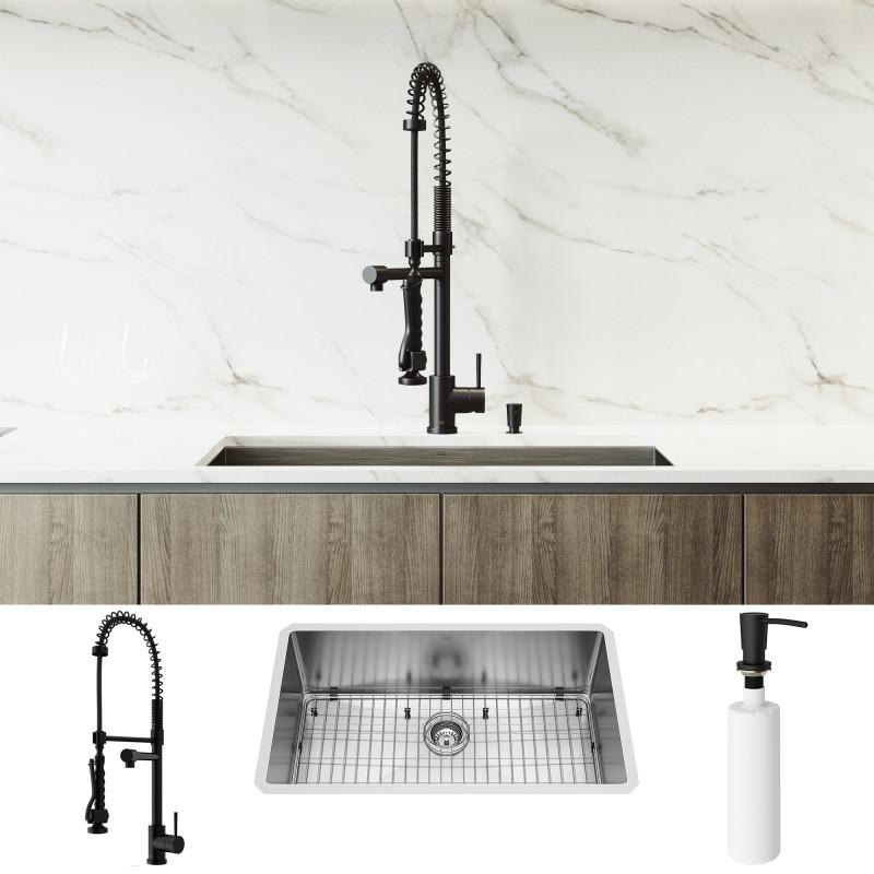 zurich pull down spray kitchen faucet