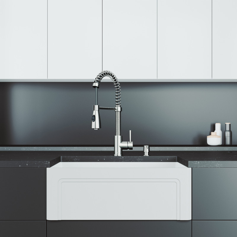 kitchen sink brant pull down faucet