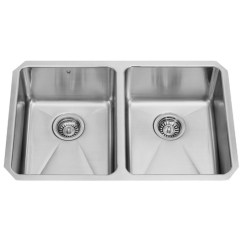 Buy Undermount Kitchen Sink Large Wall Clocks Newhall Stainless Steel Double Bowl Customer Photos Vigomarketing
