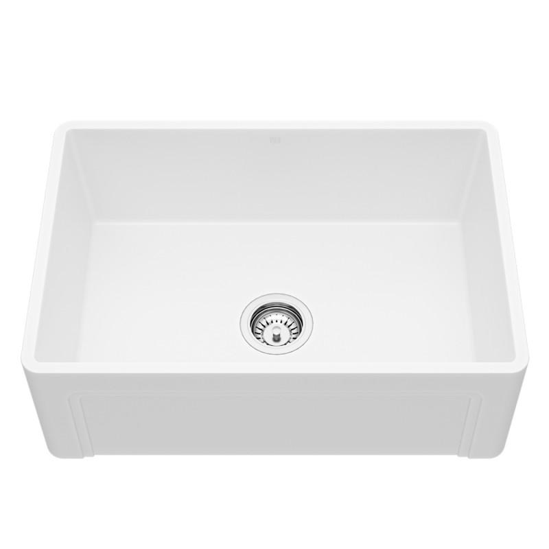 27 kitchen sink rubber flooring vigo casement front matte stone farmhouse new