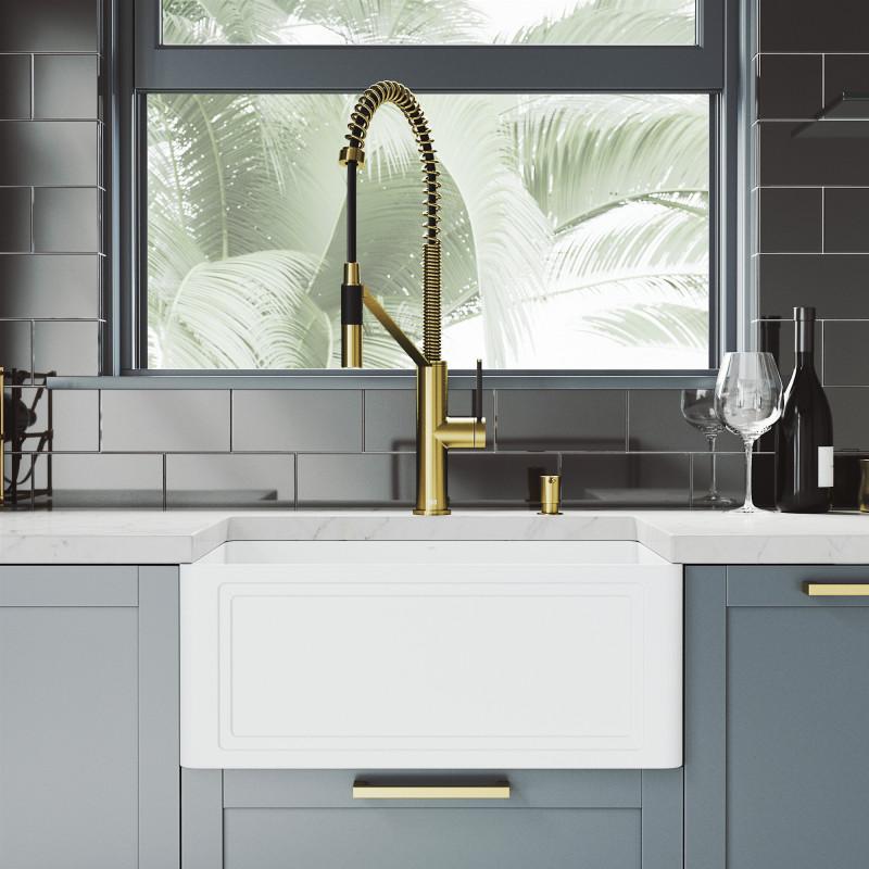 livingston magnetic kitchen faucet