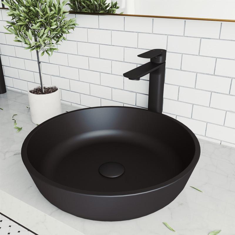 vigo modus matteshell vessel bathroom