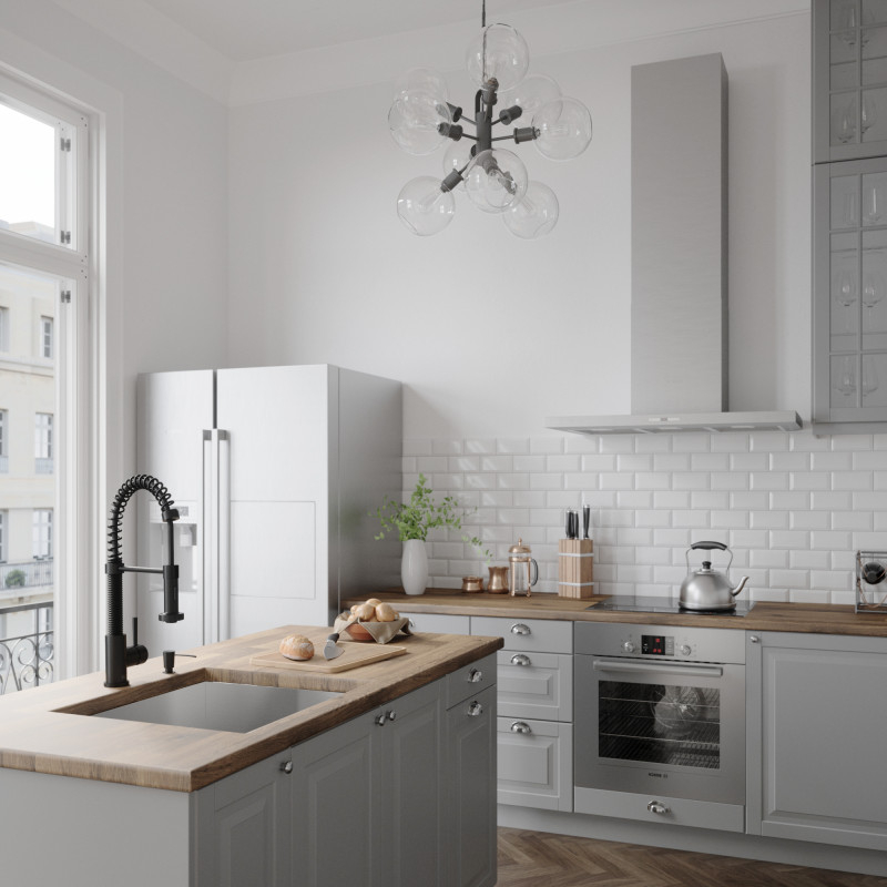black faucet kitchen cabinet with sink blog trend back in matte vigo edison pull down spray