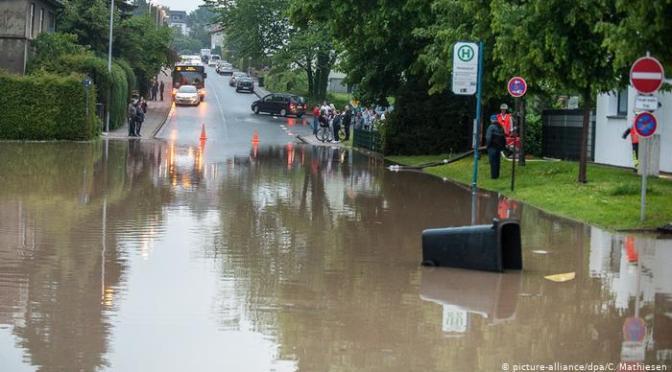 Axel viharrendszer okoz szélsőséges időjárást Németországban