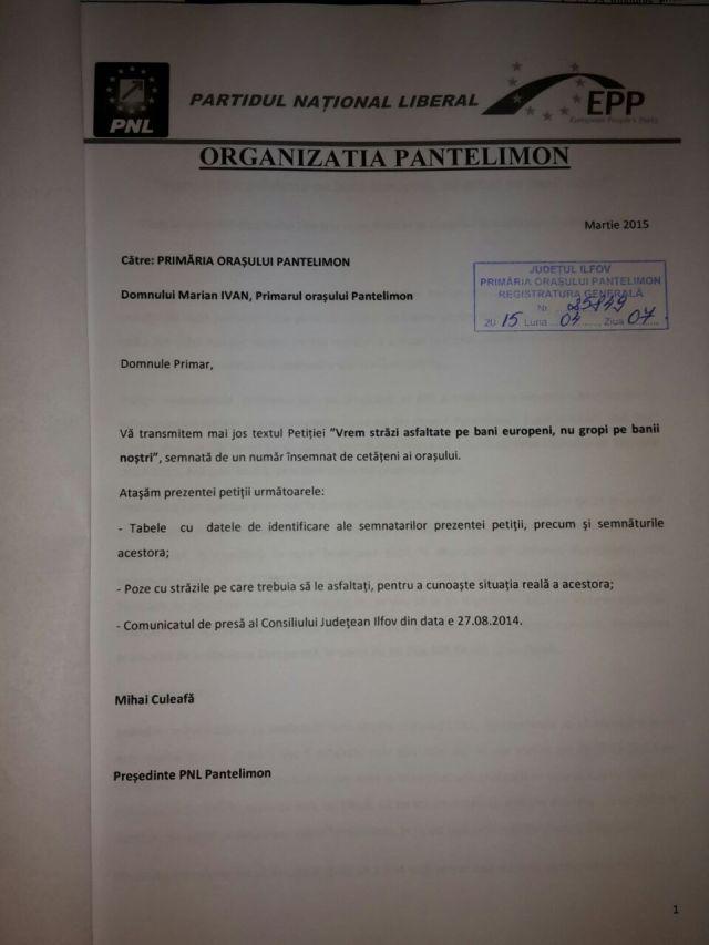 15.04.06 Pantelimon - petitie