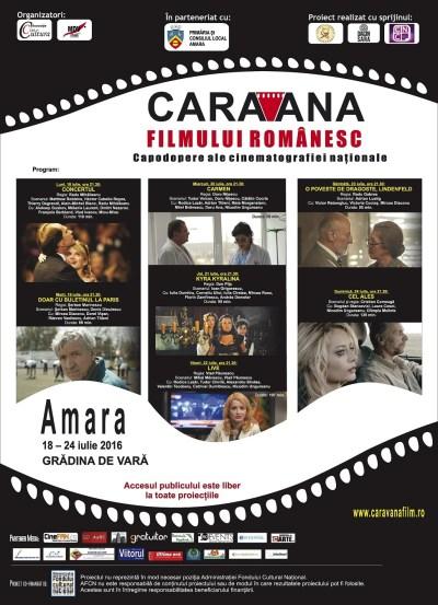 Afis Caravana la Amara web
