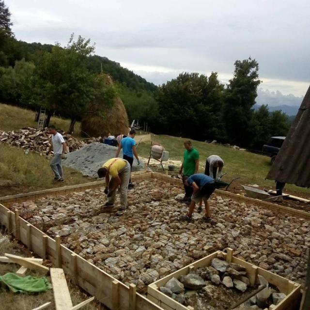 izgradnja kuće Jovanki