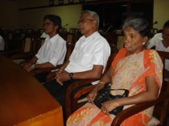 Father-mother-brother of Fr JB-at 2009 commemeration in Colombo