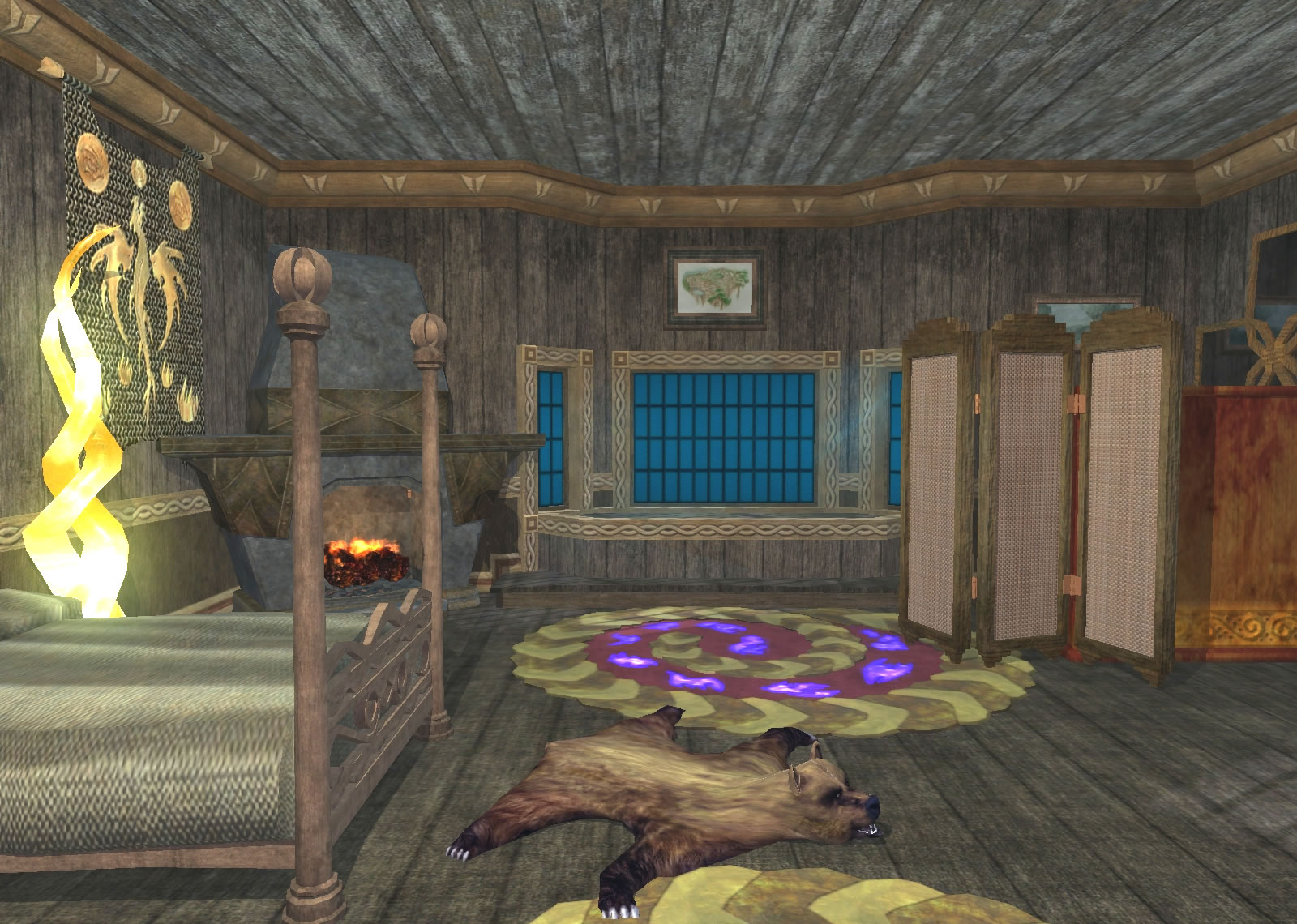 Southern Qeynos Living Presents Ghafins TwoRoom Apartment at the Lions Mane Inn and Tavern