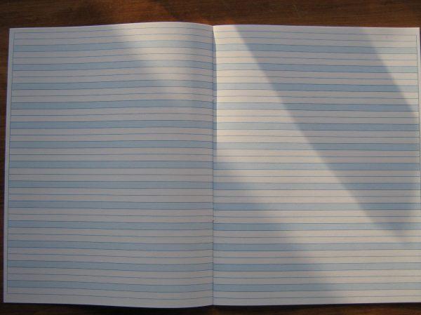 "#57l Blue Lined Notebooks Letter Size 8.5"" X 11"" - 50 Bks"