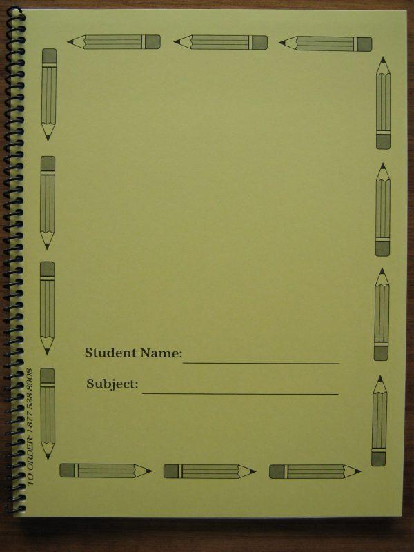 """#45aspiral Narrow Ruled Spiral Notebook 8.5"""" X 11"""