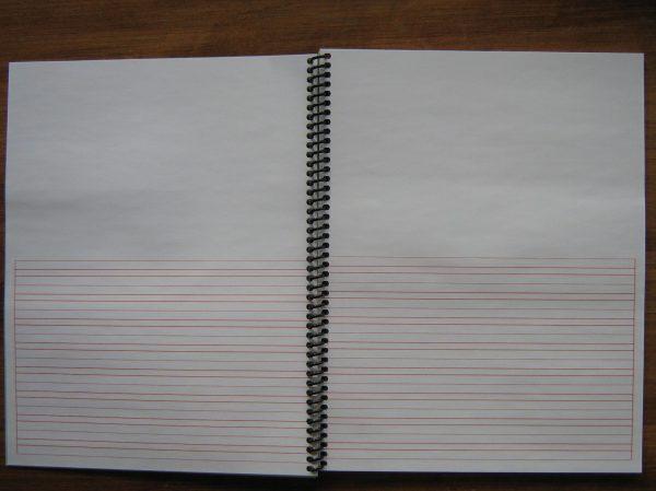 "#45espiral Narrow Ruled Project Spiral Books 8.5"" X 11"