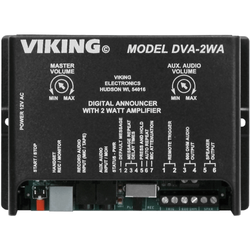 small resolution of 7 5 minute digital voice announcer with built in amplifier