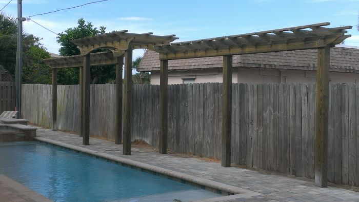 Image Gallery Viking Fence And Deck