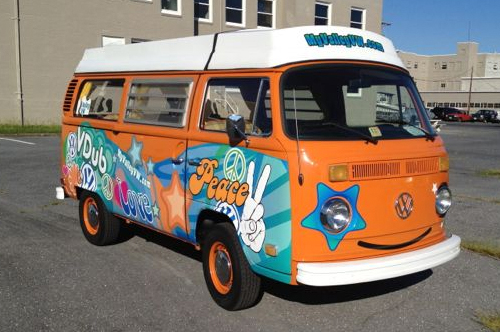 valley vw bus vehicle wrap viking forge design
