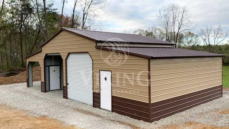 Metal Garages For Sale Buy Prefab Metal Buildings Viking Metal