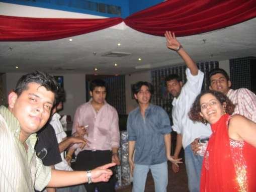 ASA students celebrating Reny Kozman's b'day, a file photo.