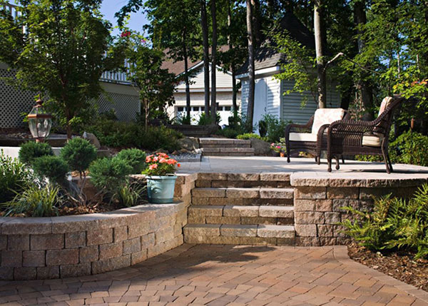 bay area retaining walls landscaping