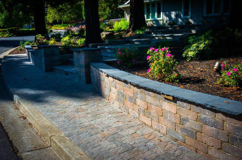 landscape design bay area paving company