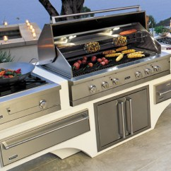 Viking Outdoor Kitchen Grey Countertops Professional Range Llc Alttag