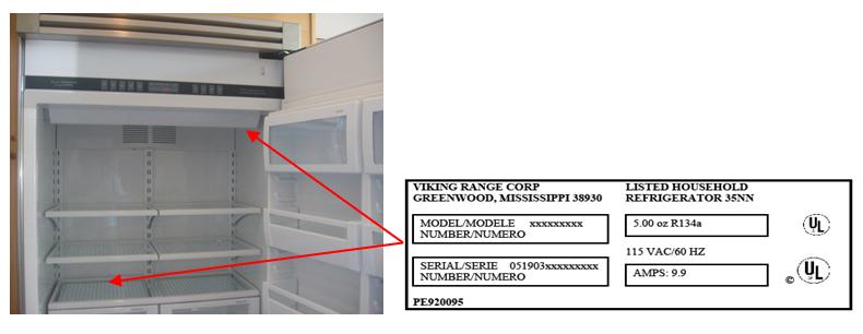 ge hotpoint refrigerator wiring diagram 1998 ford explorer xlt stereo model number location numbers kenmore 36337458792 ~ elsavadorla