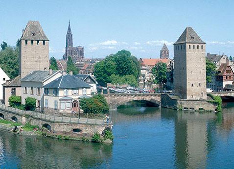 Old Town, Strasbourg, France