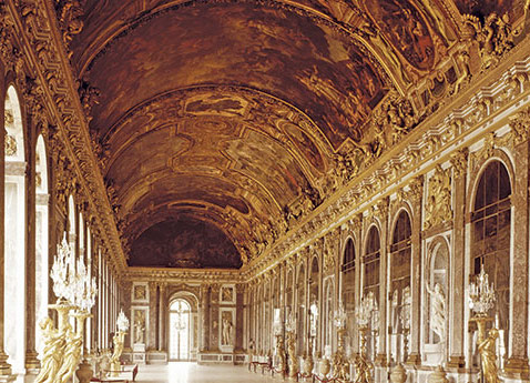 Conflans Palace Versailles, France