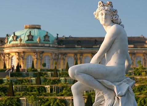 Potsdam Magdeburg Sanssouci Palace, Germany