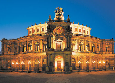 Dresden Opera House, Germany