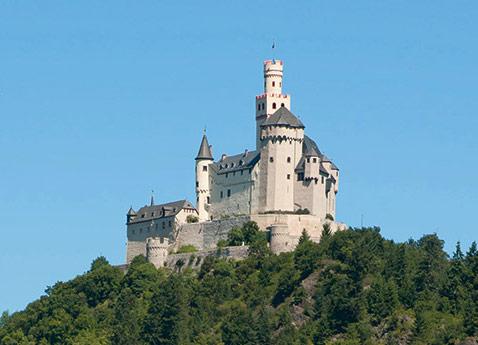 Marksburg Castle, Koblenz, Germany