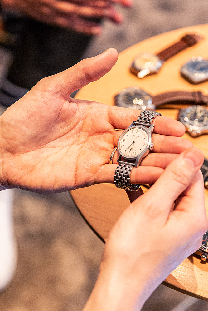 vintage watch collection budget affordable