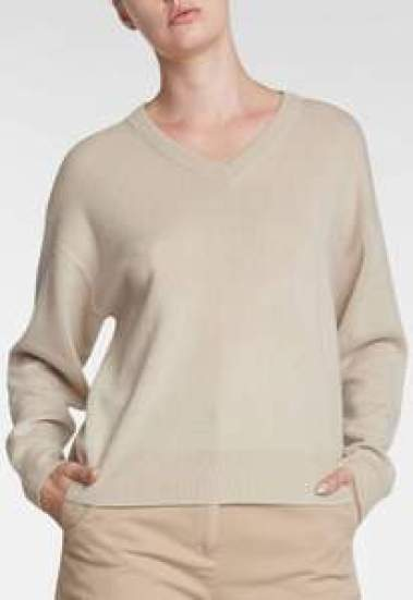 Ledo Cashmere Sweater - Bone