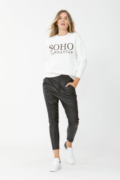 Soho Embroidered Sweat – DECJUBA