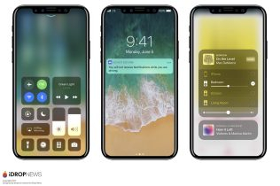 Ecco iPhone 8, iPhone X o iPhone Edition mostrato in un render da iDropNews