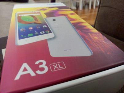 Foto prova Alcatel A3 XL