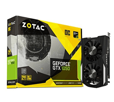 Zotac GeForce GTX 1050 OC GeForce GTX 1050 2GB GDDR5