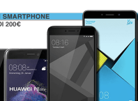 Top 4 Smartphone sotto i 200 euro