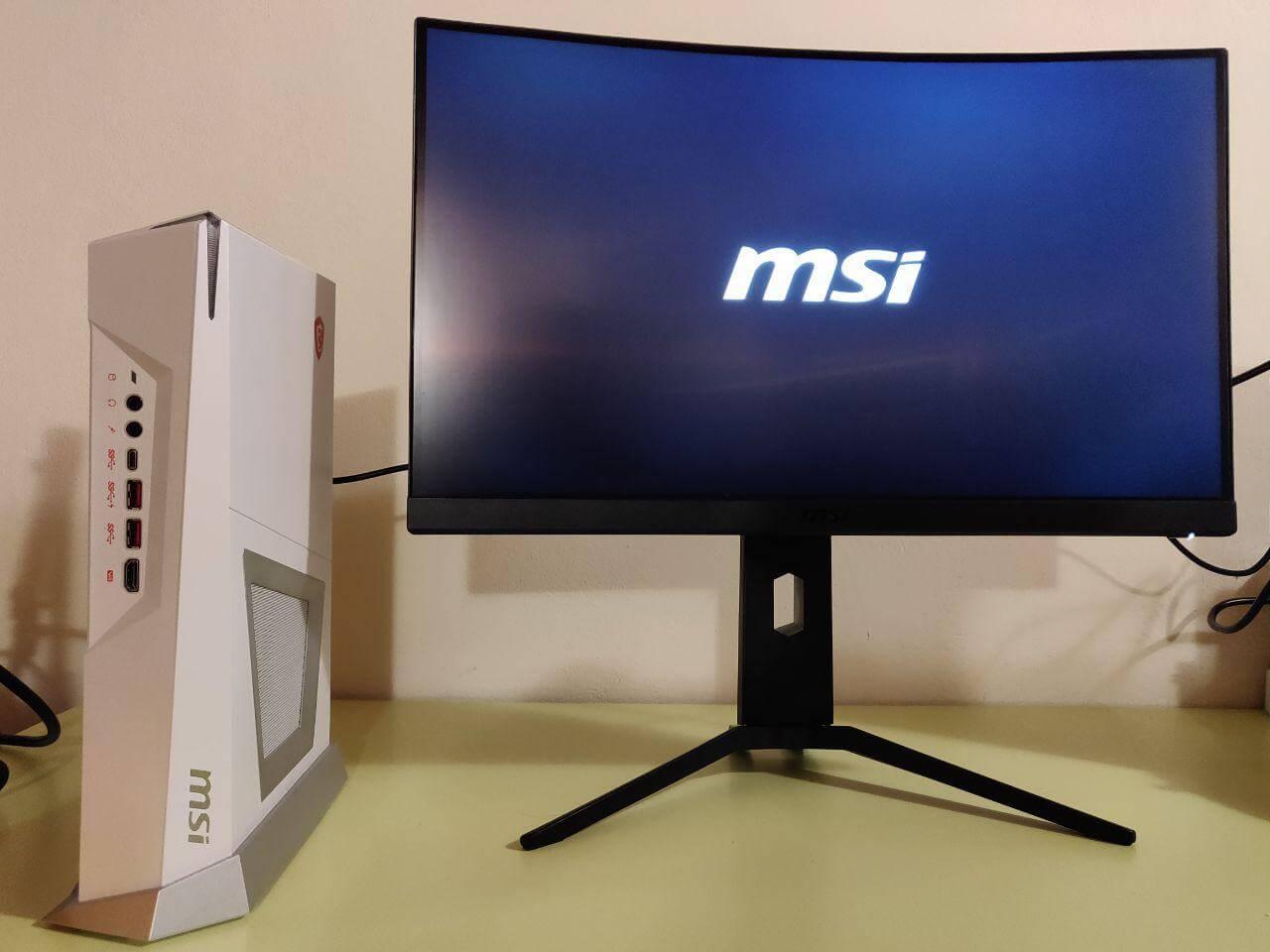 MSI Optix MAG241CR curvo: recensione - Viktec net