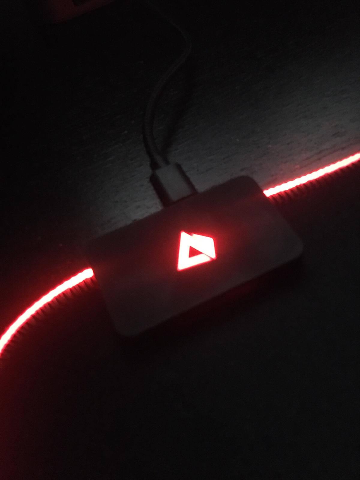 Recensione: AUKEY KM-P6 il mouse pad RGB 2