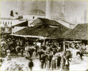 Wooden Market in Bitola (End of XIX cent.)