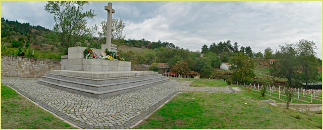 Serb cemetery from First World War
