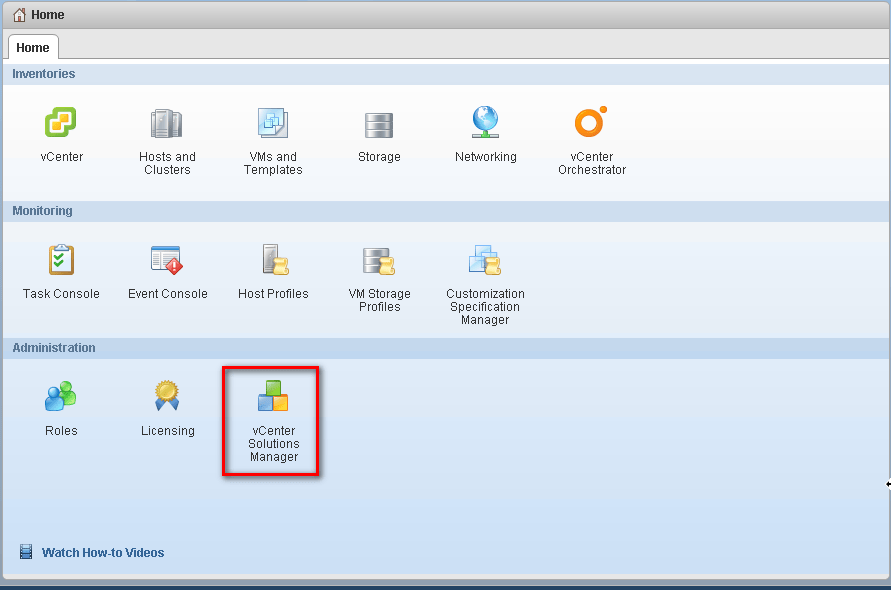 vCenter Health State zero because of unavailable vSphere