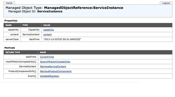 Power on a VM through the ESXi Managed Object Browser