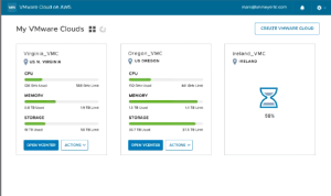 Additional details on VMware Cloud on AWS   viktorious nl