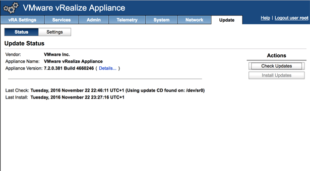 Upgrading the homelab to vRealize Automation 7.2