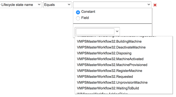 Available extensibility custom properties in vRA 7